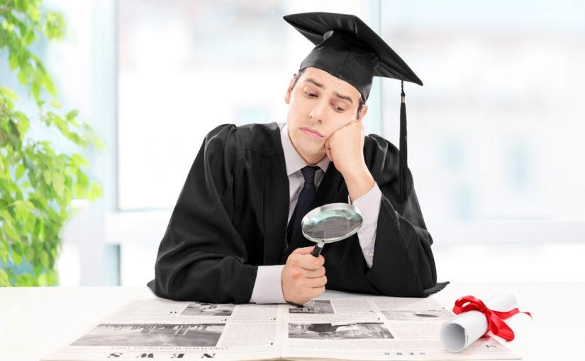 Trouver rapidement un travail après les études.